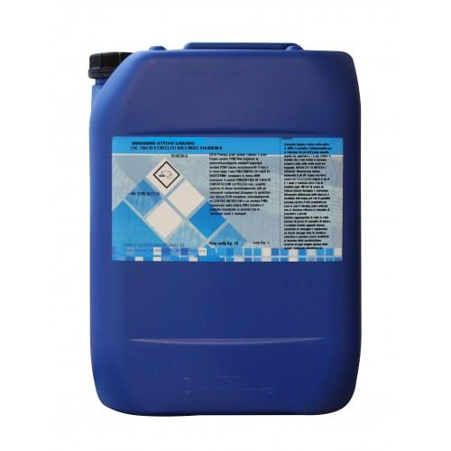 Ossigeno attivo liquido 25 kg - Ossigeno attivo per piscine ...
