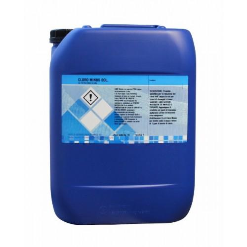Cloro meno liquido 10 kg for Cloro liquido per piscine